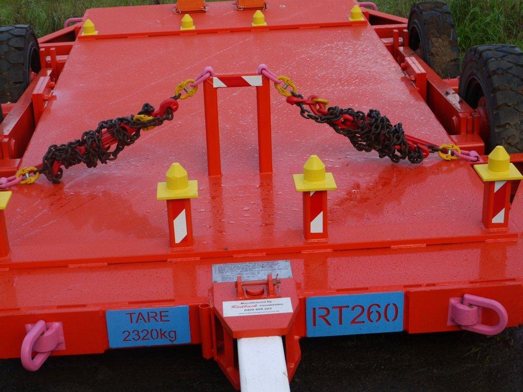 Bolting Pod Trailer for underground mines