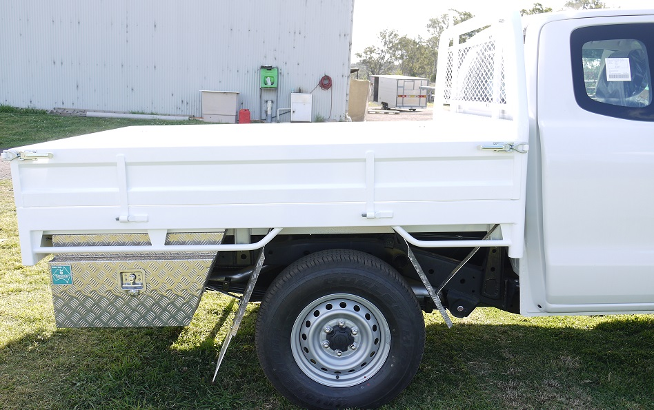 Basic Custom tray built for a Harrigan Ford Ute