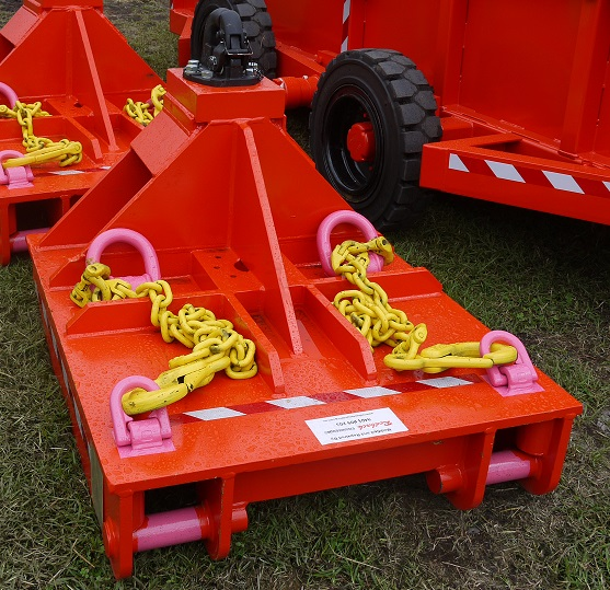 Tow Hitch after refurbishment